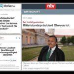 "Nach Kritik an Corona-Maßnahmen: Zwei prominente Politiker binnen Tagen ""plötzlich verstorben"""