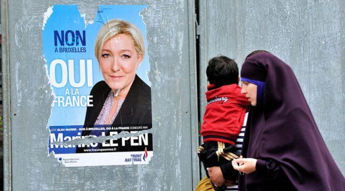 """Revolte gegen Marine Le Pen: """"Zu gemäßigt gegenüber dem Islam"""""""