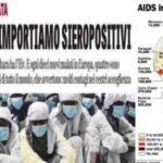 """AIDS-Alarm: """"Gefahr einer Epidemie durch Immigranten"""""""