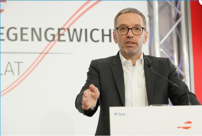 Herbert Kickl zum Wiener Attentat: Gab gab es einen Verrat innerhalb des Verfassungsschutzes?