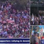 USA geteilt: der Bürgerkrieg hat begonnen
