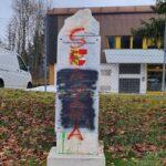 Kärnten: Sittersdorfer Gedenkstein erneut beschmiert