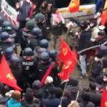 Polizei: Vor Linksextremisten Hosen voll – Anarchomob schlägt Polizeitrupp trotz voller Kampfmontur in Flucht