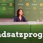 Aus dem neuen Grundsatzprogramm der Grünen