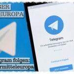 Die zensurfreie Alternative: UNSER MITTELEUROPA jetzt auf Telegram folgen!