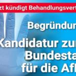 Arzt pfeift auf Eid und Grundgesetz – kündigt AfD-Politikerin Behandlungsvertrag