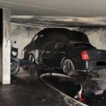 Akku-Brände nur schwer zu löschen: Erste Tiefgarage für E-Autos gesperrt