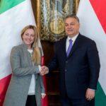 Orbán bekräftigt Bereitschaft zur Zusammenarbeit mit Fratelli d'Italia