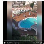 """Gran Canaria für Urlauber gesperrt, während """"Boots-Migranten"""" fröhlich in Hotelpools planschen"""