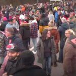 Corona-Großdemonstration für Freiheit an deutsch-österreichischer Grenze! (Livestream)