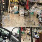 Immigrantenüberfälle in Ventimiglia: zehn Autos zertrümmert und Läden ausgeraubt