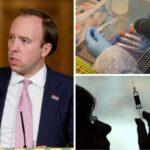 Britischer Gesundheitsminister: Covid-Impfstoffe werden wie Grippeimpfstoffe saisonal sein