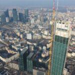 Varso Tower, das höchste Gebäude in der EU