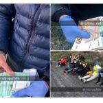 Beweisfotos: Illegale Bootsmigranten kommen mit tausenden Euro Bargeld, neuer Kleidung und teuren Handys an
