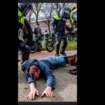 Unfassbare Polizeigewalt gegen Corona-Demonstranten in den Niederlanden