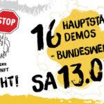 """""""Es reicht"""": Demonstrationen in allen 16 Bundesländern"""