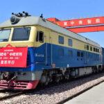 Jährlich werden eine Million Container zwischen Europa und China verkehren
