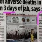 Indien: Von 180 Impf-Todesfällen 75% innerhalb von drei Tagen nach Impfung