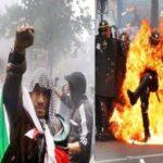 F: Muslime feiern Ramadan, schlachten eine Polizistin ab und brennen alles nieder (Video)