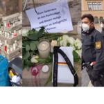 Nach Richterhausdurchsuchung: Vermummte schänden Gedenken an Rechtsstaat – Polizei schützt Vandalen